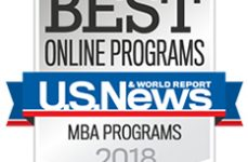MBA Online program ranked in the Top 3