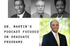 Dr. Martin's Podcast Focused On Graduate Programs