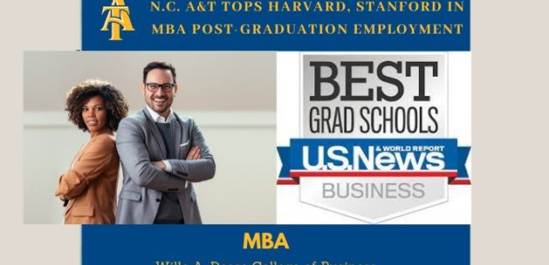 N.C. A&T TOPS HARVARD, STANFORD IN MBA POST-GRADUATION EMPLOYMENT